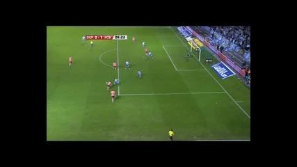 Deportivo La Coruna - Barcelona 0 - 1 Messi