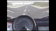 Bmw K1200s 0 - 280km/h