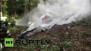 Словакия: Поне 7 души загинаха при сблъсък на два самолета