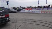 Vw Golf 7 R Revo Stage 1 vs Nissan Gt-r