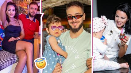 Бати стана тати преди 10 месеца! Дъщеричката на Криско с празник, вижте чаровното хлапе!