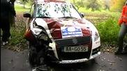Rally Crash Compilation 2010 X