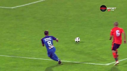 Трето попадение за Левски срещу Витоша