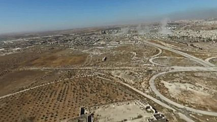 Syria: Drone shows aftermath of SAA and Hezbollah offensive in southern Aleppo