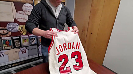 The Last Jersey - Michael Jordan's 1984-85 game-worn Bulls jersey up for auction