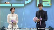 2013 S B S Drama Awards Best Couple Lee Min Ho & Park Shin Hye (бг превод) ( The Heirs )