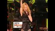Началото на концерта на Мадона в София. Madonna - Candy shop