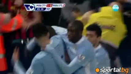 Венсан Компани прати Юнайтед в Нокдаун в дербито на Манчестър