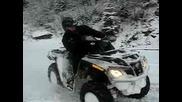 ATV Can - Am Atv Outlander 800r xt na sniag