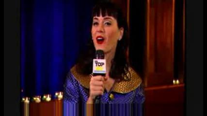 Кейти Пери в ТВ шоуто VH1 Top 20 Countdown 10.12.08