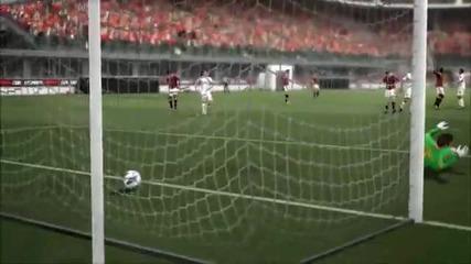 Fifa 14 vs Pes 2014 Gameplay