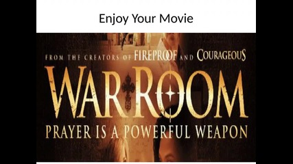 War Room - Elizabeth save her family with prayer - Opening this week in Theaters