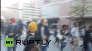 USA: Baltimore protesters flood streets after new police chief announced