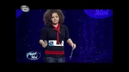 Music Idol 3 - Симона 13 Годишното Момиче