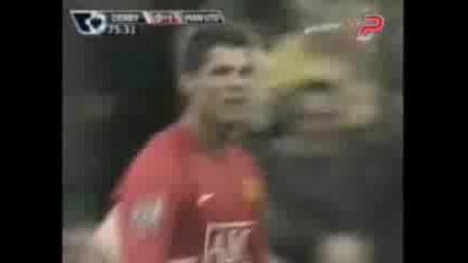 Дарби Каунти - Манчестър Юнайтед - 0:1