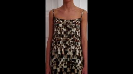 bote - Къса рокля Джина