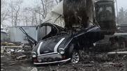 Унищожаване на Мини Купър от митническите власти в С А Щ заради законови нарушения
