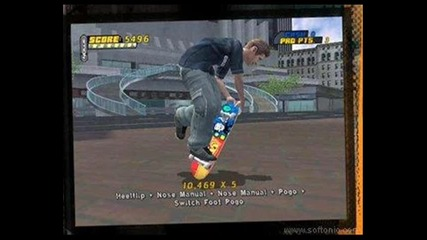 tony hawk pro skater 4-music video