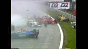 F1 video- Funny - Sports Bloopers - F1 Mass Crash