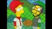 The Simpsons Butterfinger Basseball