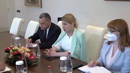 Премиерът Стефан Янев проведе среща със заместник министър-председателя на Украйна Олга Стефанишина