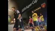 Церомония по откриването на купата на Европа - Арсенал - Лил - Pes 11