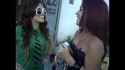 Tatah e Juh portilla Cantandomi delirio na fila do show da Anahi