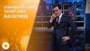 Colbert refuses to apologize over Trump joke