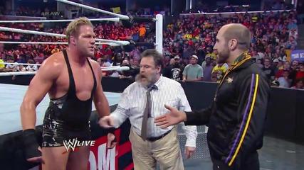 Big E vs Jack Swagger Raw (10.03.14)