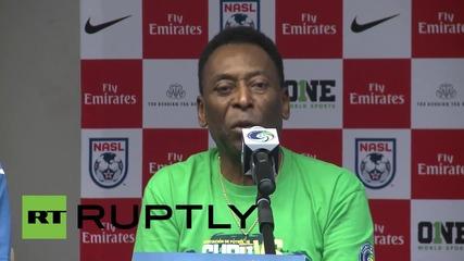 Cuba: Pele lauds peace power of football ahead of Cosmos- Cuba friendly