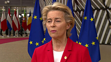 Belgium: 'We want de-escalation' - Von der Leyen on East Med as she arrives at special EU summit