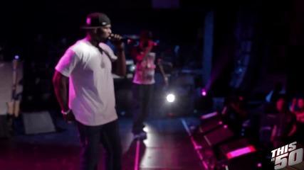 *hard Sh!t* 50 Cent x Eminem - Till I Collapse Remix (live @ Sxsw - Austin - 2012)