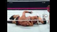 Cesaro vs Dolph Ziggler ( 2 out of 3 falls match for Ic title ) - Wwe Hell In A Cell 2014