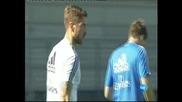"""Касияс и Рамос започнаха тренировки с групата на """"Реал"""" (Мадрид)"""
