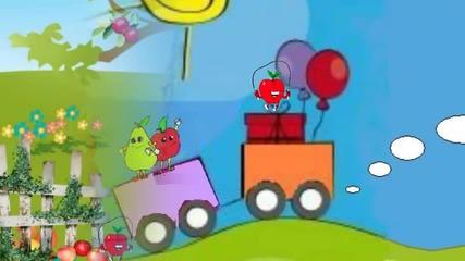 Родни плодове - Детски песнички