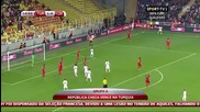 Турция 1:2 Чехия 10.10.2014