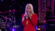 N e W: Nicki Minaj - Freedom * Live @ Ellen /official video/ H D