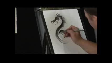Как да нарисуваме Дракон
