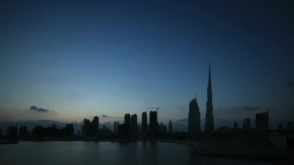 Красив залез над Дубай! Hd