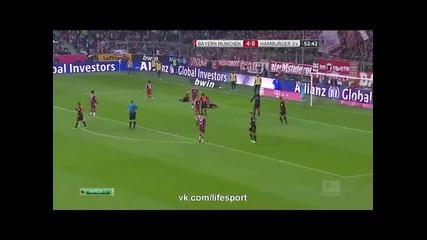 14.2.2015 Байерн Мюнхен-хамбургер 8-0 Бундеслига