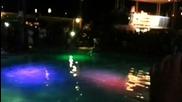 Задни салта с джет в басейн