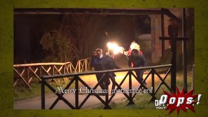 От смях до бой! Дядо Коледа е мега луд!!!