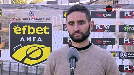 Тунчев: Искам един стабилен, солиден и атакуващ Локомотив