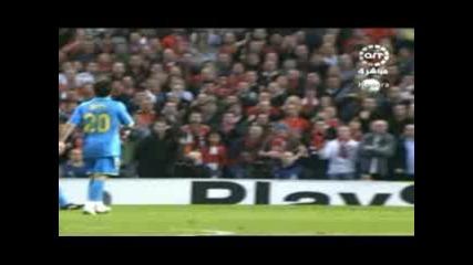 Man Utd 1-0 Barca Scholes 29-04-08