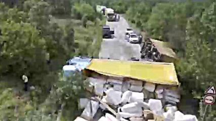 МОЯТА НОВИНА: Камион - катастрофа