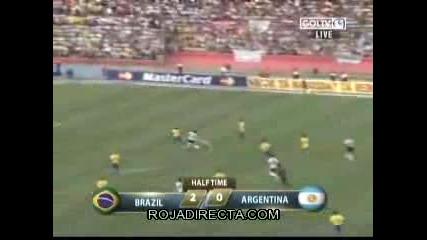 Бразилия - Аржентина 3:0