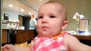 Бебета опитват лимон