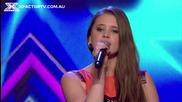 15-годишно момиче пее прекрасно .. Georgina Mastin - The X Factor Australia 2013