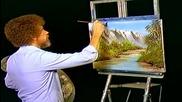 S05 Радостта на живописта с Bob Ross E08 - Аризонско великолепие ღобучение в рисуване, живописღ