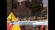 Антиядрени протести в Германия и Италия